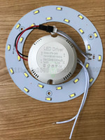 Wholesale circular panel led 12w - PROMOTION W W W W W SMD Ceiling Circular Magnetic Light Lamp AC85 V AC220V Round Ring LED Panel board with Magnet MYY