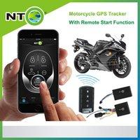 отслеживание топлива оптовых-NTG02M бесплатная доставка мотоцикл gps трекер дистанционного запуска двигателя и топлива вырезать приложение android и iphone бесплатная платформа