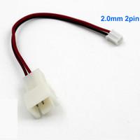 ingrosso micro ventola 12v-ARSYLID Cavo di conversione da 3 pin a 2 pin Cavo adattatore ventola da 2,0 mm Ventola da 12 V per raffreddamento VGA 2pin micro-pin