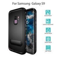 Wholesale original waterproof cell phones for sale - Group buy Original Red Pepper Samsung Ultra Slim Cover Stand Case for S9 S9 Plus Waterproof Snowproof Shockproof Galaxy S9 Cell phone Cases