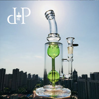 Wholesale apple bongs for sale - PlusPlus Glass Bong AGM quot The Connection quot heady art Apple Green Mint Incycler water pipe for Oil Herb Flower Vaporizer mm Female