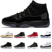 huge selection of ad353 75739 retro 11 shoes großhandel-Air Retro 11 11s Cap und Gown Prom Nacht Männer  Basketball