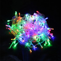 ingrosso stringa dei chrismas-ghirlanda LED String Luce fata Decor Lamp Chrismas decorazione di festa Impermeabile luce esterna AC 10 M / 20 M / 30 M / 50 M / 100 M
