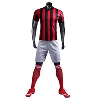 Wholesale size hot online - 2018 FOOTBALL SUIT SOCCER KIT BLANK SUIT SIZE S M L XL CUSTOMIZED ITEM NEW ARRIVAL HOT SALE BLACK YELLOW RED BLUE GREEN