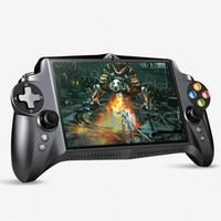 ingrosso 4g per compresse-JXD S192K Videogiochi palmari 7 pollici RK3288 Quad Core 4G / 64GB GamePad 10000mAh Android 5.1 Tablet PC Console per videogiochi