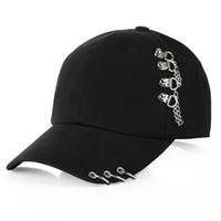 sızdıran kapak toptan satış-2018 Yeni Moda K POP cap BTS beyzbol kapaklar ayarlanabilir pamuk BTS kap şapka snapback şapkalar rahat kapaklar spor şapka yüksek kalite
