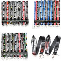 Wholesale cars lanyards - 2018 Hot Neck Strap Lanyard Hot Car logo neck strap lanyard Key Ring KeyChain cellphone strap for All models