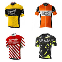 Wholesale Morvelo Cycling Jerseys Short Sleeves Summer Cycling Shirts Cycling Clothes Bike Wear Comfortable Breathable Hot New Morvelo Jerseys J92002