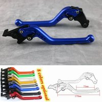 Wholesale brake levers - For YAMAHA R25 R3 MT03 2014 2015 2016 2017 New Style Aluminum CNC Adjustable Motorcycle Brake Clutch Lever