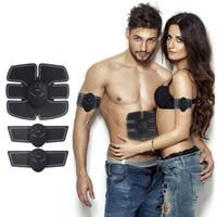 ingrosso stimolatore del corpo-Dispositivo di stimolazione muscolare addominale Dispositivo elettrostatico senza fili Cintura elettromeccanica che dimagrisce massaggiatore Fitness casa Body Toning Beauty Attrezzi per la macchina