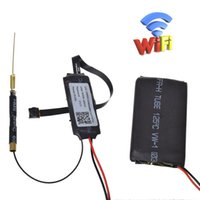 Wholesale mini camera modules - 32GB DIY Mini Network Camera Wifi Module Camera Home Security Camera Hd 1080p Ip Cam P2p Dvr Mini Camcorders Video Recorder Remote By App