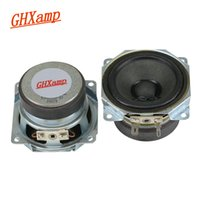 Wholesale Wholesale Computer Paper - GHXAMP 4OHM 10W For LG 2.5 inch Dual Magnetic Midange Woofer Speaker Units Paper Basin Cloth Edge Sound Loudspeaker DIY 1 Pairs