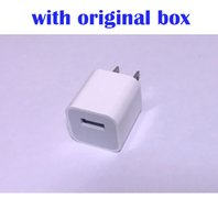 Wholesale travel charger iphone box - Original Quality A1385 with LOGO US Plug USB AC Power Wall Charger Travel Adapter for iphone 6 6S 7 8 PLUS X With Original Box