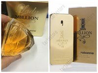 Wholesale perfume lady - Luxury Perfume 2018 New Rabanne Lady and men 80 ML 100 ml Million Perfume Good Quality Smell well Free Shipping