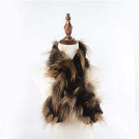 bufandas de piel de zorro de las mujeres al por mayor-2018 Nueva Llegada Real Rex Piel de Conejo Real Bufanda de Piel de Zorro Moda de Las Mujeres Chales Otoño Invierno Silenciador