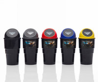 otomatik çöp toptan satış-Mini Araba Çöp kutusu Oto İç Çöp Toz Durumda Tutucu Çöp Kutuları Için Araç Ofis Ev Masası
