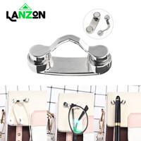 ingrosso espositore magnetico-Lanzon Magnetic Holder Glass Eye Home Accessori Decoration Hang Magnet Occhiali da sole clip Hook Shirt goccia universale Display Rack