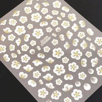 Wholesale cc decals resale online - Newest CC d nail art stickers nail decal japan korea type decorations