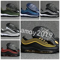 Wholesale new generation sports - 2018 New Men 3 Generation Low 97 OG Cushion Breathable Running Shoes Massage Mens Trainers 97s Ultra Sports Outdoor Sneakers Size 40-47