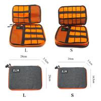 ingrosso organizzatore di ipad-Home Luluhut Impermeabile Ipad Organizer Cavo dati USB Auricolare Cavo penna Banca di alimentazione Borsa da viaggio Borsa Kit Dispositivi digitali Gadget