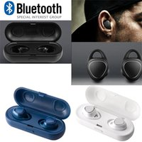 Wholesale headphones cord mic for sale – best Sport In Ear Earbud Wireless Cord Free Headphone for Samsung Gear iConX SM R150 wireless sports bass bluetooth earphone with mic