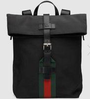 leinwand briefe umhängetasche großhandel-2019 Techno Canvas Backpack 337075 Herren Rucksäcke Schultertaschen Handtaschen Griffe Cross Body Messenger Bags