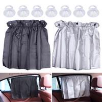 Wholesale shade curtain cloth for sale - Group buy Car Cover Curtain Sun Shade UV Proof Side Window Cloth Curtain Sun Visor for Auto Car Adjustable cm x cm Flexible