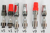 Wholesale electronic cigarette v5 atomizer - Amigo Liberty V9 Vaporizer 0.5ml 1 ml Atomizer Amigo V5 V6 V7 V8 V9 thick oil cartridges Electronic Cigarette vape tank