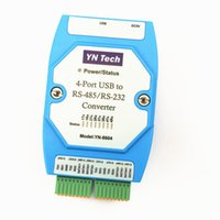 Free shipping 1pcs 4 port USB to RS485 RS232 Converter 4 serial COM port adapter FT4232