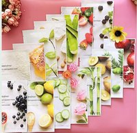 Wholesale Oil Control Sheets - Best price 14 kinds Innisfree Squeeze Mask Sheet Moisturising Face Skin Treatment Oil-control Facial Mask Peels Skin Care