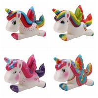 Wholesale chinese new gifts for sale - Unicorn Kawaii squishy Jumbo Squeeze Toys PU Decompression Toy Novelty Items christmas toy decor prop kids gift FFA1092