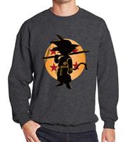 papel de anime al por mayor-Japón popular anime DRAGON BALL Son Goku pegatinas hierro en remiendos camiseta suéter papel de transferencia térmica parche para la ropa
