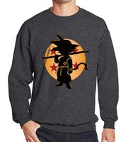 Wholesale goku clothes online - Japan popular anime DRAGON BALL Son Goku stickers Iron on patches T shirt Sweater thermal transfer paper Patch for clothing