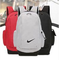 Wholesale female computer bags - Classic NK male and female student bag travel bag computer bag backpack