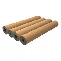 ingrosso yoga perdere peso-Più lungo 183 cm * 66 cm * 5mm Tappetino per tappetino da yoga in gomma di sughero Tappetino per yoga Tappetino per yoga Esercizio per il fitness