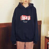 Wholesale korean slim hoodie for sale – custom Fashion Korean Version Loose Hooded Harajuku Thick Coat Jacket Lazy Tops Sweatshirt Women Tracksuit Fleece Hoodies Sweatshirt Hot Sale