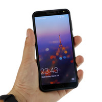 cdma kameralar mp3 toptan satış-5.5 inç Üçlü Kameralar Kavisli ekran P20 Pro Goophone 8.0MP Android WiFi Bluetooth 4 GB RAM 4G LTE Unlocked Akıllı Telefon
