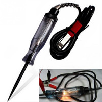 Wholesale test tools online - Auto Test Pencil Repair Tool V V V Circuit Electroprobe For Car Boat RV ATV Electrical Pen