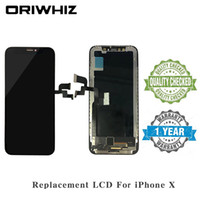 Wholesale iphone lcd touch panel price for sale - High quality Replacement Screen for iPhone X LCD Digitizer Assembly Touch Screen Stock Available Black Better Price