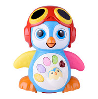 Wholesale Read Machine - New arrival!Baby Toys Electric Hip Pop Dance Read & Tell Story & Interactive Swing Goose Kids Learning Educational Toys Gifts