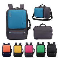 laptop taschen 17,3 zoll großhandel-SOCKO Multifunktionale Laptop Rucksack 14 15,6 17 17,3 Zoll Aktentasche Schultertasche Reisetasche für Männer und Frauen