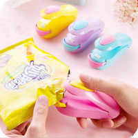 Wholesale plastic bags packing machine for sale - Portable Mini Heat Sealing Machine Household Impulse Sealer Seal Packing Plastic Bag Plastic Food Saver Storage Kitchen Tools