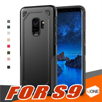 Wholesale Rugged Protection - Hybrid 360 Full Body Coverage Drop Protection Rugged Armor Shockproof Cases for Iphone X 8 Plus Samsung Galaxy S9 NOTE 8 Plus Case