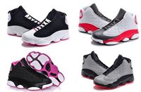 cheap girl shoes sale 2018 - Online Sale Cheap New 13 Kids basketball shoes for Boys Girls sneakers Children Babys 13s running shoe Size 11C-3Y