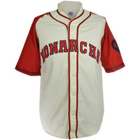 Wholesale army shorts for women - Kansas City Monarchs 1942 1945 Home Baseball Jersey Doulble Stiched Logos & Name & Number Customizable For Men Women Youth