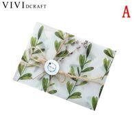 бумажные наборы оптовых-Vividcraft Creative Leer Paper Envelopes Sets Writing Paper Leer 3 pcs/Pack Sulphate Paper Envelope for Invitations and Gift