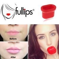 Wholesale lips pump plumper - Opp bag packing Lipstick Makeup lip pump lip plumper Lip Enhancer Device Natural Fuller Bigger Thicker Sexy Lips Enlarger