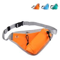 hebilla de bolsa al por mayor-Triángulo Caldera Bolso de la cintura Lucha contra la transpiración Diseño de bolsas de deporte con hebilla Bolsa de tela Oxford Moda 6 5nz B