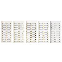 extension des cils inférieurs achat en gros de-10 paires de taille différente inférieure sous le fond faux cils noir faux yeux cils extension maquillage outils