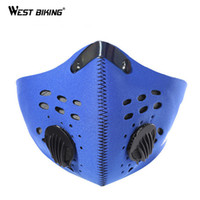 Wholesale Mask For Motor - WEST BIKING Smokeproof Mask Headwear For Bike Face Guard Bicyle Cycling Motor Cycle Masks Sports Ski Snowboard Veil 4 Colors